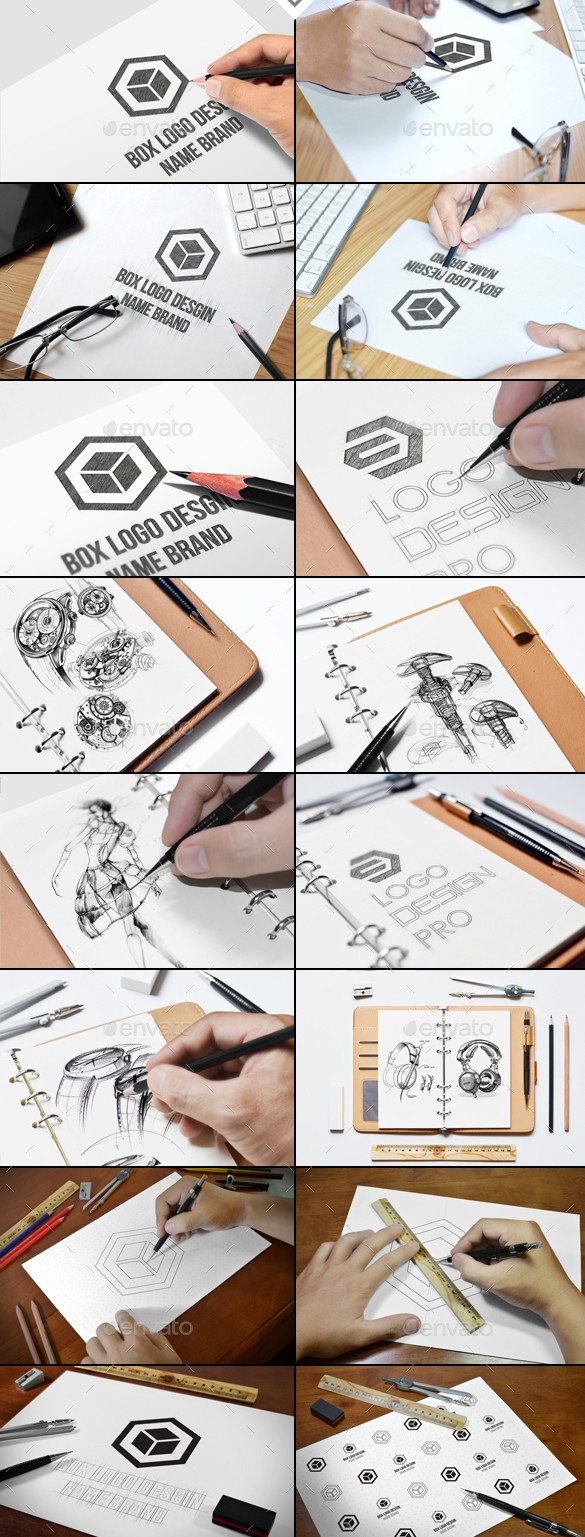 Sketch Mockups Bundle