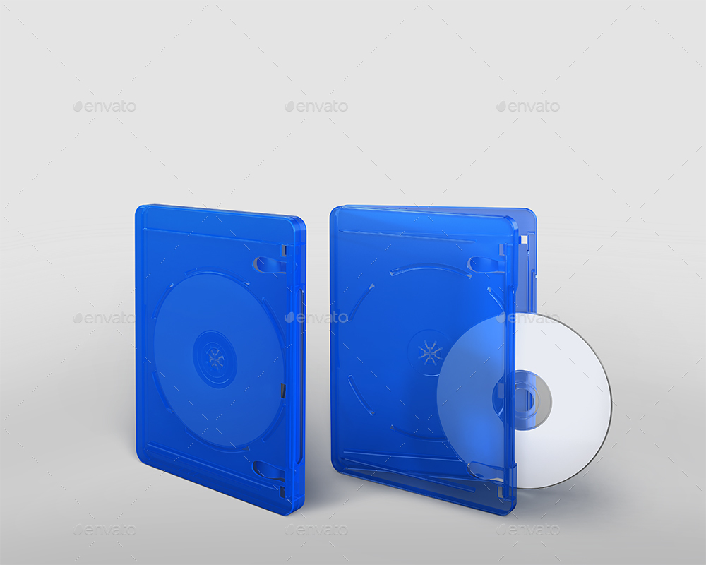 Blu-ray / DVD Case Packaging Mockups
