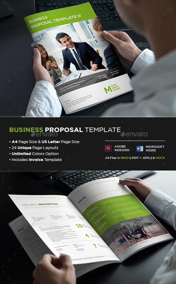 Business Proposal Template III