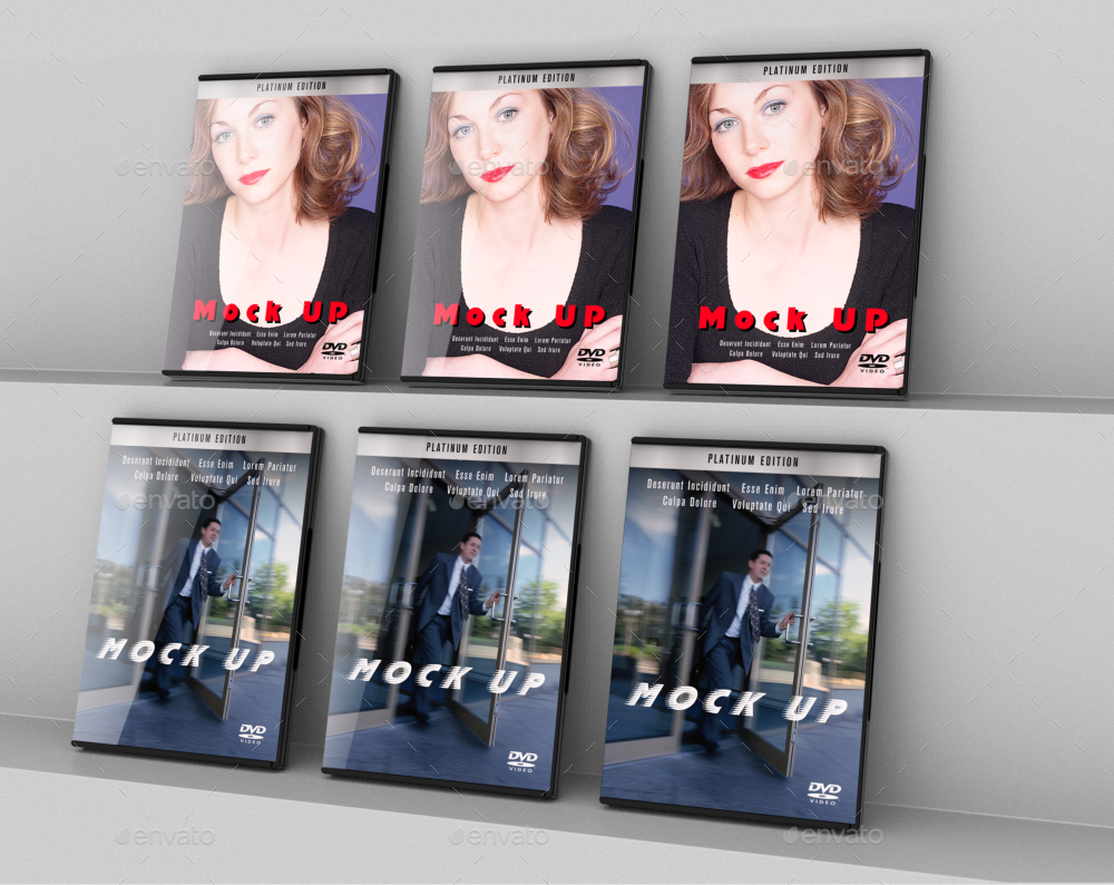DVD Collection Mockup