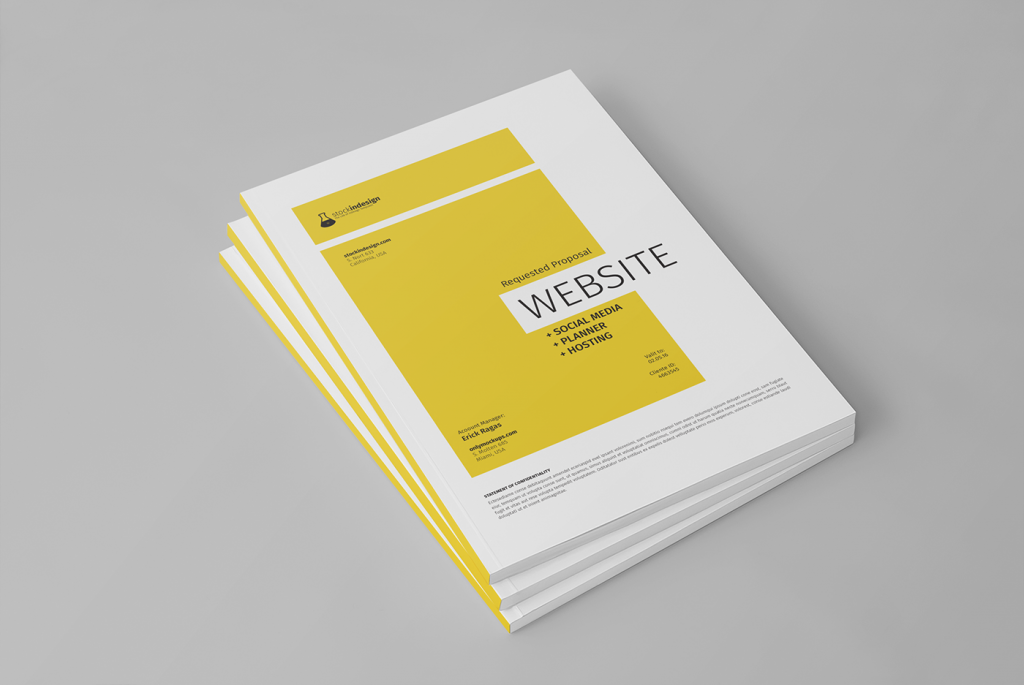 Free Website Project Proposal Template
