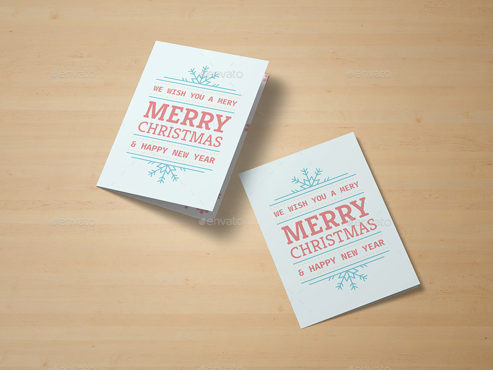 Greeting Card and Invitation Mockup