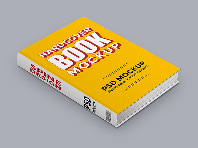 Harcover Book Mockup