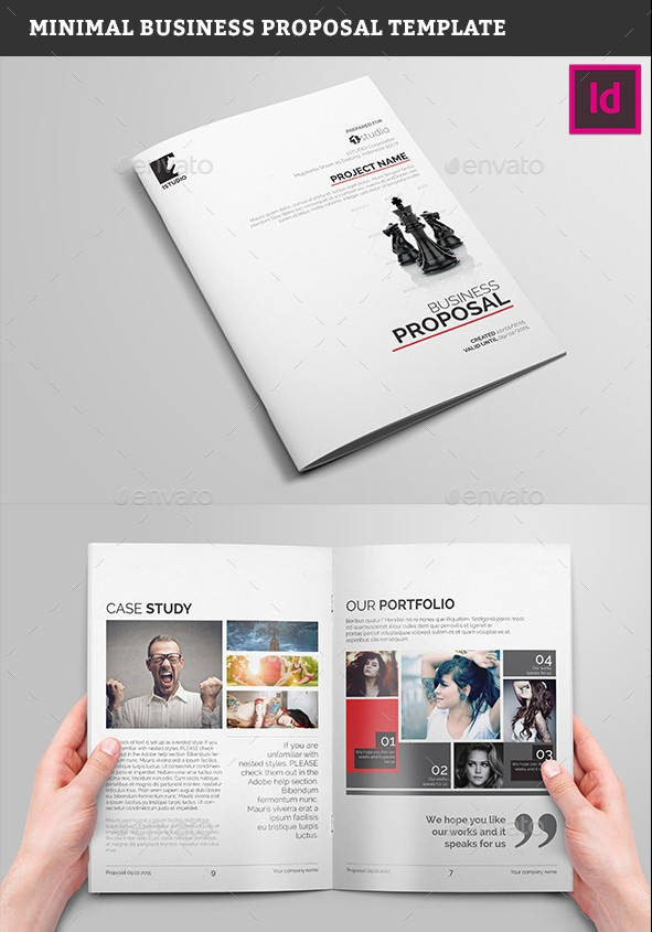Minimal Business Proposal Template