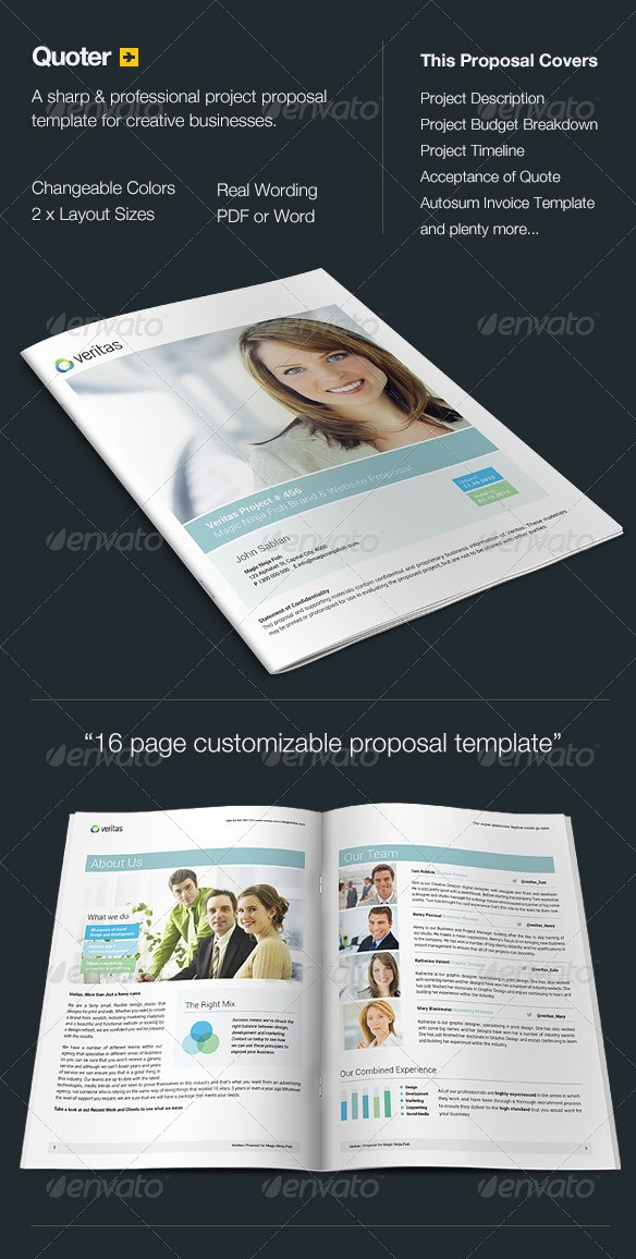 Quoter - Proposal Template