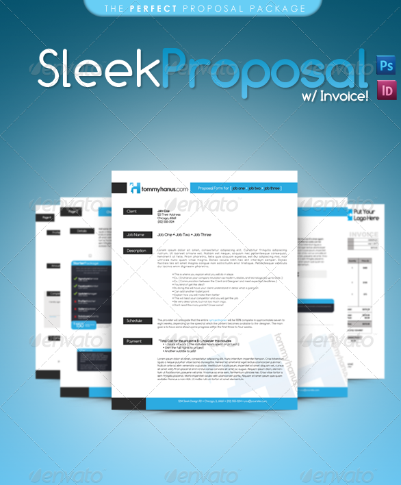 Sleek Proposal - Professional Proposal Template