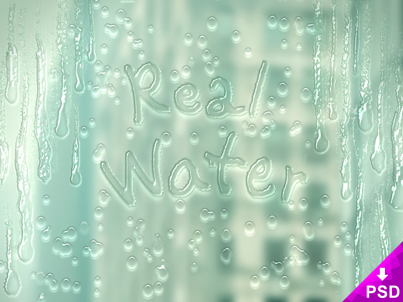 Real Water Layer Style