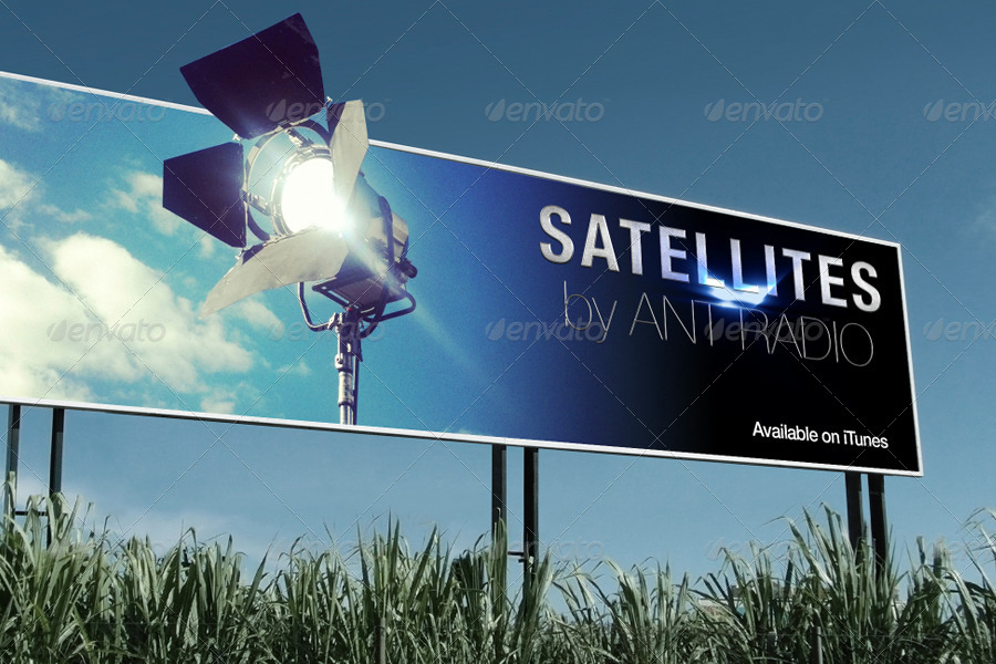 Set of Photorealistic Billboard Mockups