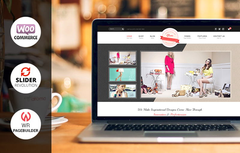 great premium wordpress eCommerce theme