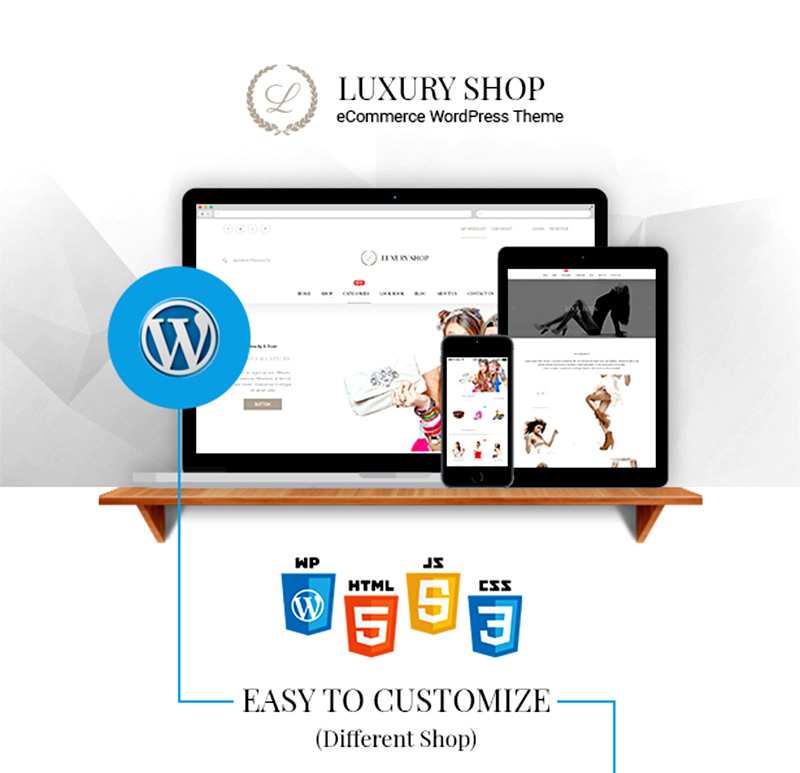 nice and cool premium ecommerce wordpress theme