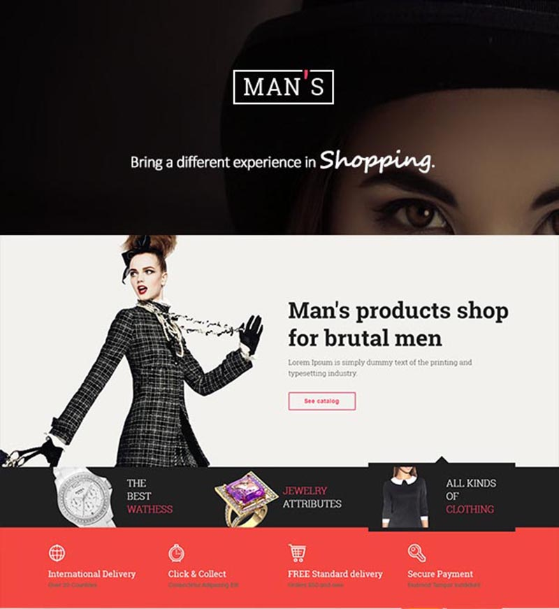 nice and cool premium wordpress eCommerce or woocommerce theme