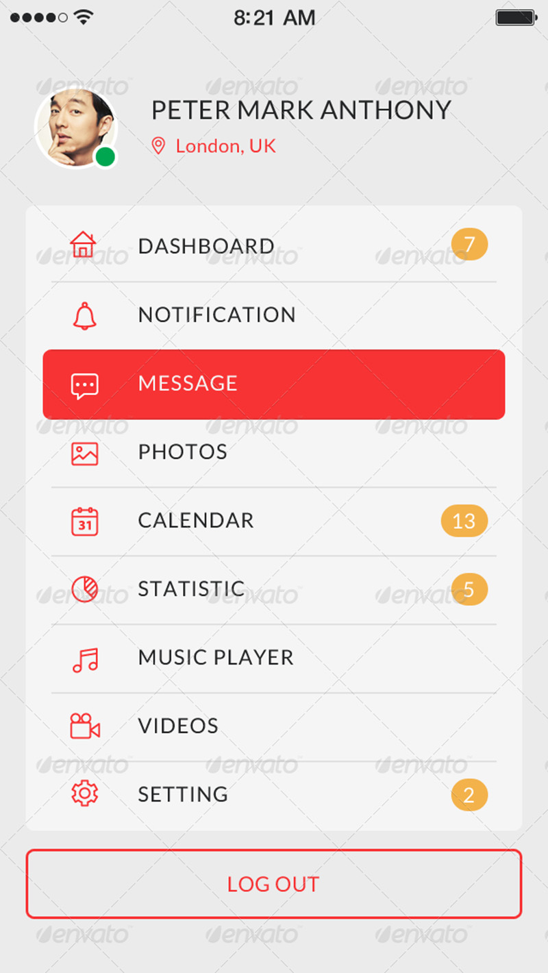 most popular mobile app mockup premium psd template