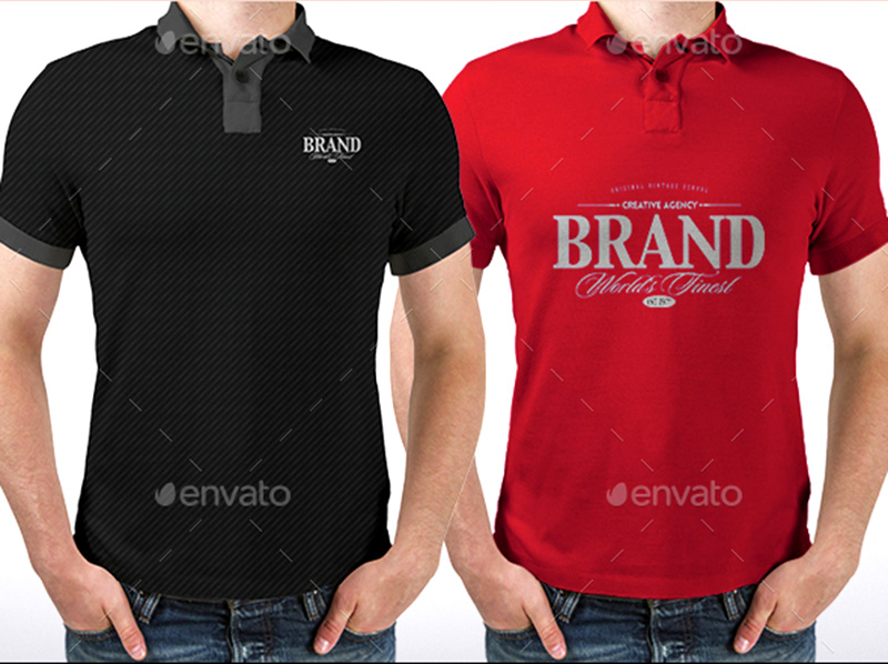 fantastic premium polo shirt mockups download psd