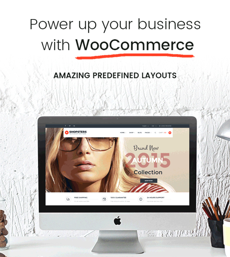 awesome premium wordpress eCommerce theme