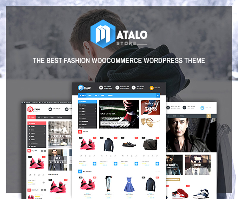 premium wordpress eCommerce theme for online store