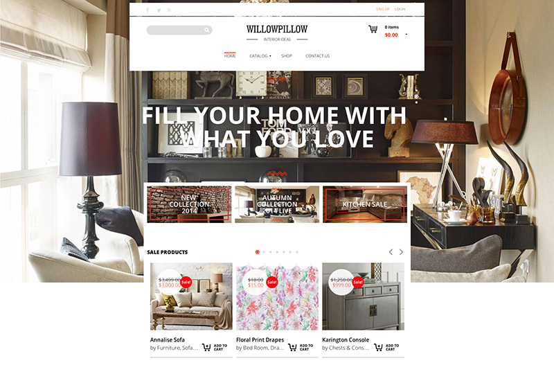 premium ecommerce wordpress themes for online shop