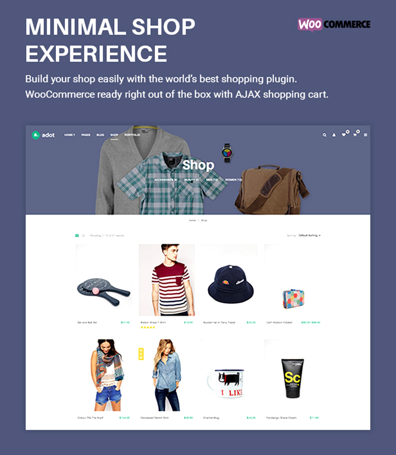 cool premium wordpress eCommerce theme