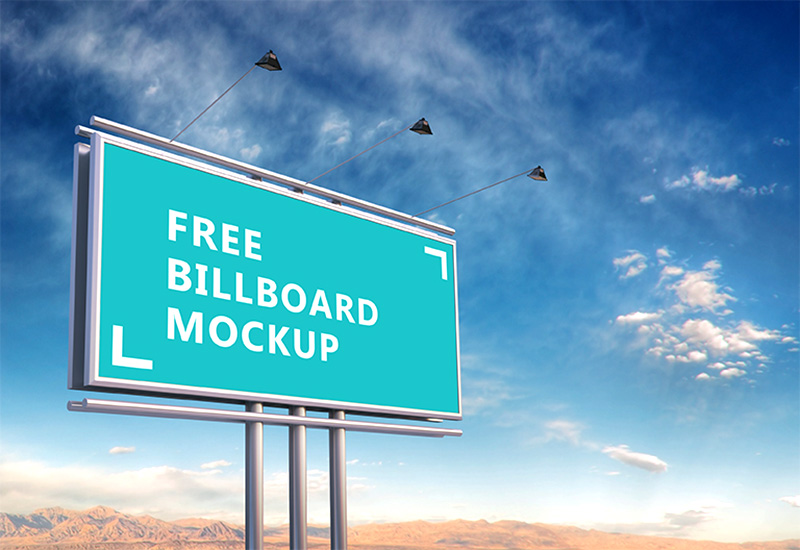 latest outdoor advertising billboard mockups psd for free