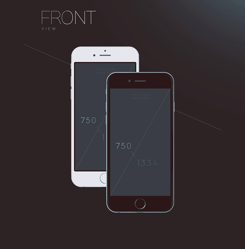 50 free iphone mockup psd designs instantshift