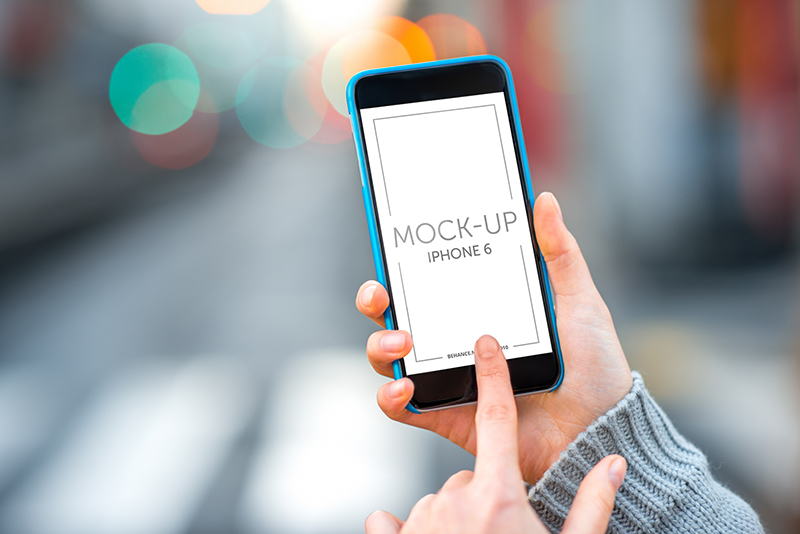 free iphone 6 psd mockups for download