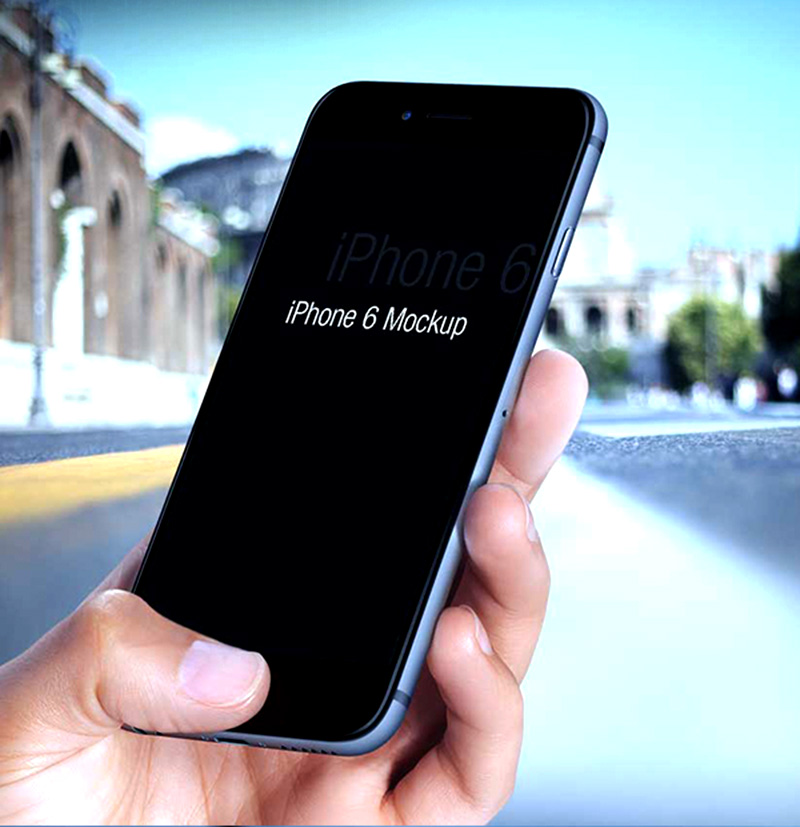 awesome and unique free iphone 6 mockup psd