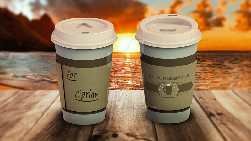 best free coffee cup mockup for download