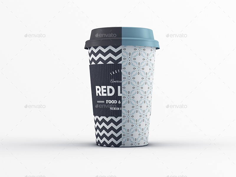 awesome premium coffee cup mockup