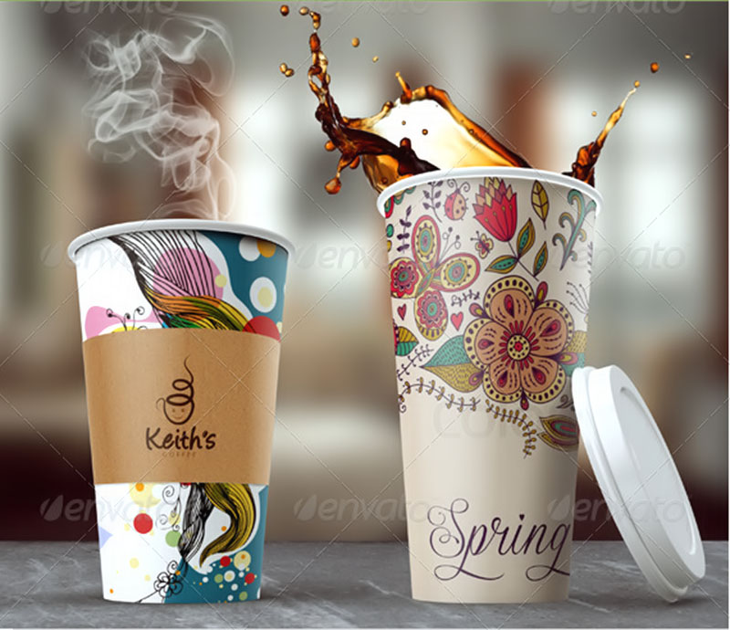 best premium coffee cup mockup psd