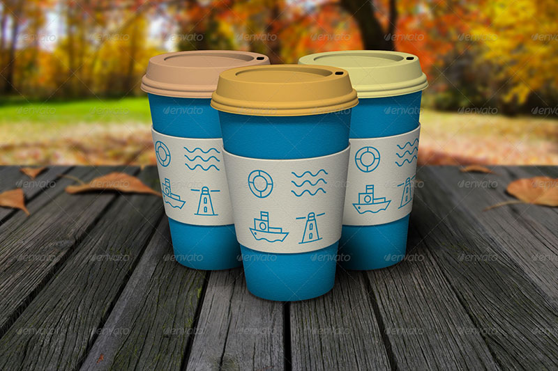 great premium coffee cup mockup