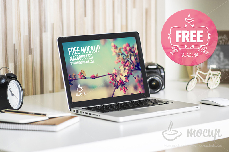 greatest MacBook Pro Mockup free download