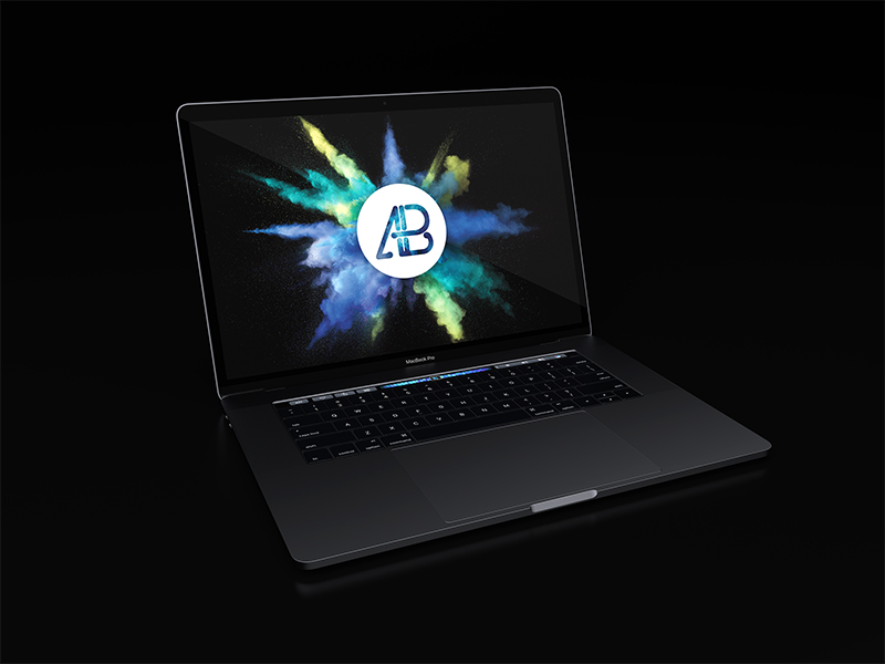 amazing MacBook Pro Mockup in PSD