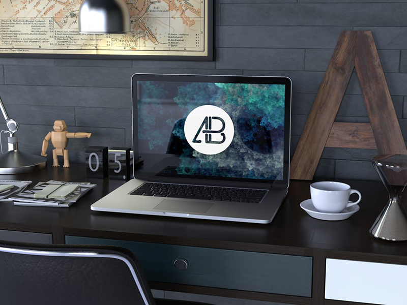 nicest MacBook Pro Mockup free download