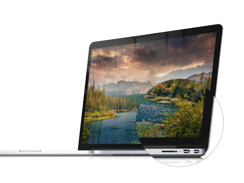 great MacBook Pro Mockup template in PSD