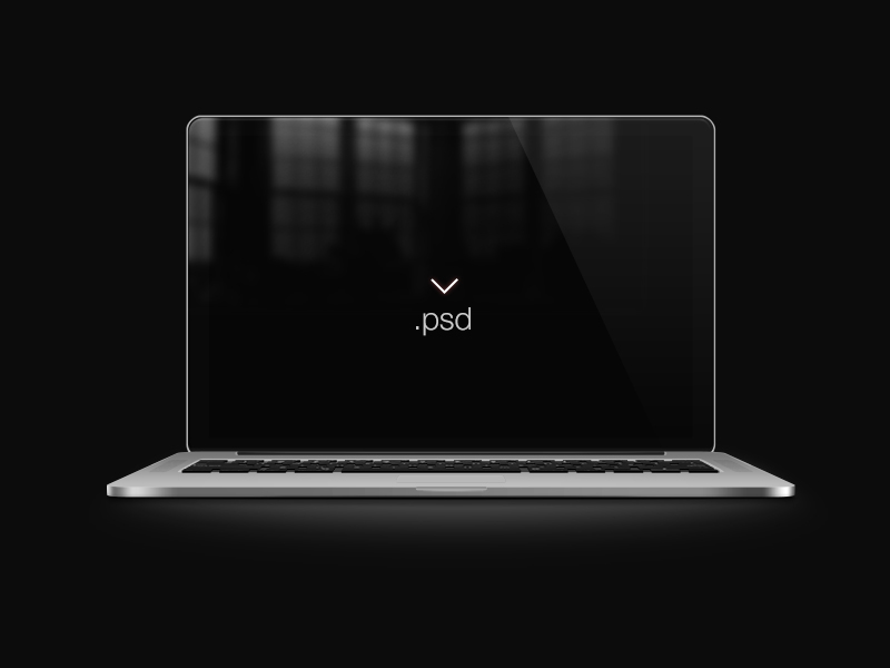 best MacBook Pro Mockup template in PSD