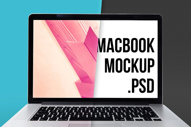 apple macbook pro psd template