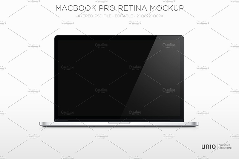 macbook pro retina template