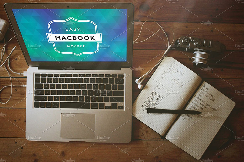free macbook pro template