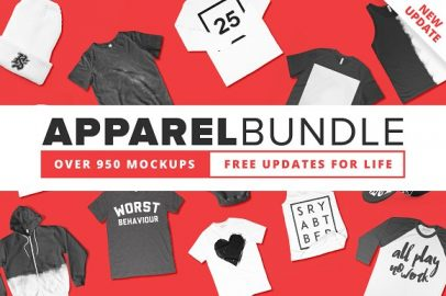 Over 35 of the Best T-Shirt Mockup Templates Available for FREE Download