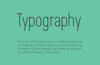 The Diverse Stories of the Simplifica Font