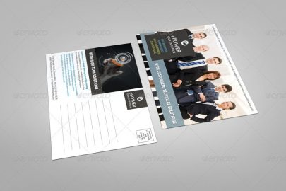 Showcase Your Postcard Designs with This Postcard Mockup Template