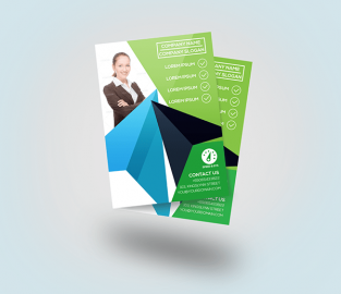 Best PSD Flyer Mockup Designs You Can Download for FREE!
